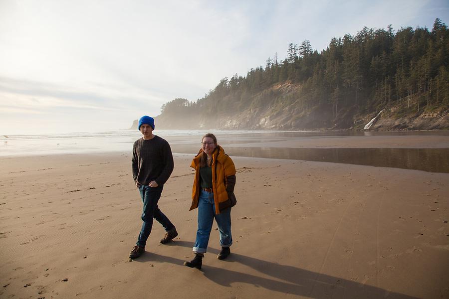 Short Sands Beach, Oswald West State Park, on the Oregon Coast
