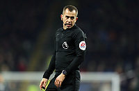 Referee Peter Bankes<br /> <br /> Photographer Rich Linley/CameraSport<br /> <br /> The Premier League - Burnley v Crystal Palace - Saturday 30th November 2019 - Turf Moor - Burnley<br /> <br /> World Copyright © 2019 CameraSport. All rights reserved. 43 Linden Ave. Countesthorpe. Leicester. England. LE8 5PG - Tel: +44 (0) 116 277 4147 - admin@camerasport.com - www.camerasport.com