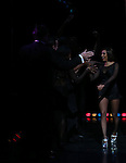 Mel B during her Curtain Call Bows in Broadway's 'Chicago' at  the Ambassador Theatre in New York City.