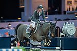 Philippe Rozier of France riding on Unpulsion de la Hart competes during the EEM Trophy, part of the Longines Masters of Hong Kong on 10 February 2017 at the Asia World Expo in Hong Kong, China. Photo by Juan Serrano / Power Sport Images