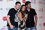 02.06.2012. Celebrities attending the ´Cadena 100´ 20th Anniversary Concert at stadium Vicente Calderon in Madrid.In the image: India Martinez and Estopa   (Alterphotos/Marta Gonzalez)