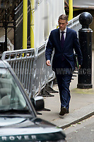 Gavin Williamson MP (Chief Whip - Parliamentary Secretary to the Treasury).<br /> <br /> London, 12/06/2017. Today, Theresa May's reshuffled Cabinet met at 10 Downing Street after the General Election of the 8 June 2017. Philip Hammond MP - not present in the photos - was confirmed as Chancellor of the Exchequer. <br /> After 5 years of the Coalition Government (Conservatives &amp; Liberal Democrats) led by the Conservative Party leader David Cameron, and one year of David Cameron's Government (Who resigned after the Brexit victory at the EU Referendum held in 2016), British people voted in the following way: the Conservative Party gained 318 seats (42.4% - 13,667,213 votes &ndash; 12 seats less than 2015), Labour Party 262 seats (40,0% - 12,874,985 votes &ndash; 30 seats more then 2015); Scottish National Party, SNP 35 seats (3,0% - 977,569 votes &ndash; 21 seats less than 2015); Liberal Democrats 12 seats (7,4% - 2,371,772 votes &ndash; 4 seats more than 2015); Democratic Unionist Party 10 seats (0,9% - 292,316 votes &ndash; 2 seats more than 2015); Sinn Fein 7 seats (0,8% - 238,915 votes &ndash; 3 seats more than 2015); Plaid Cymru 4 seats (0,5% - 164,466 votes &ndash; 1 seat more than 2015); Green Party 1 seat (1,6% - 525,371votes &ndash; Same seat of 2015); UKIP 0 seat (1.8% - 593,852 votes); others 1 seat. <br /> The definitive turn out of the election was 68.7%, 2% higher than the 2015.<br /> <br /> For more info about the election result click here: http://bbc.in/2qVyNRd &amp; http://bit.ly/2s9ob51<br /> <br /> For more info about the Cabinet Ministers click here: https://goo.gl/wmRYRd