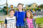 -r  Daniel Castles, Tralee, Aishling Castles, Tralee and Kate Fitzsimmons at the Fenit Triathlon Club Tri Kingdom Come Triathlon on Saturday