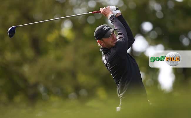 Chris Wood (ENG) during Round One of the 2015 BMW PGA Championship over the West Course at Wentworth, Virginia Water, London. Picture David Lloyd, www.golffile.ie: 21/05/2015