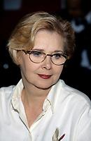 Andree Champagne au salon du livre 1995<br /> <br /> PHOTO : Agence Quebec Presse - Pierre Roussel