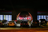 Las Vegas NV - March 21: Planet 13 Las Vegas At midnight all marijuana dispensaries switch to delivery only due to shutdown of all nonessential businesses in Las Vegas, Nevada on March 21, 2020. <br /> CAP/MPI/DAM<br /> ©DAM/MPI/Capital Pictures