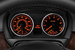 Instrument panel close up detail view of a 2005 - 2008 BMW 3-Series 328i Wagon.