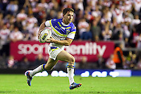 PICTURE BY ALEX WHITEHEAD/SWPIX.COM - Rugby League - Super League Play-Off - Warrington Wolves vs St Helens - The Halliwell Jones Stadium, Warrington, England - 15/09/12 - Warrington's Richie Myler in action.