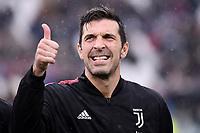 Gianluigi Buffon of Juventus <br /> Torino 1-12-2019 Juventus Stadium <br /> Football Serie A 2019/2020 <br /> Juventus FC - US Sassuolo 2-2 <br /> Photo Federico Tardito / Insidefoto