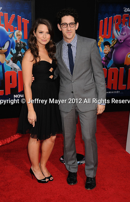 HOLLYWOOD, CA - OCTOBER 29: Katie Lowes arrives at the Los Angeles premiere of 'Wreck-It Ralph' at the El Capitan Theatre on October 29, 2012 in Hollywood, California.