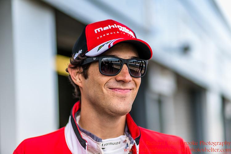 21 Bruno Senna (BRA)  Mahindra Racing Formula E - Donington Test 25th August 2015<br /> <br /> Photo:  - Richard Washbrooke Photography