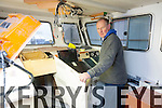 Fionán Murphy of Murphy Marine Services, Valentia pictured here in the wheel house of one of their new builds destined for Norwegian waters.