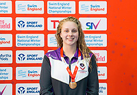 Picture by Allan McKenzie/SWpix.com - 13/12/2017 - Swimming - Swim England Winter Championships - Ponds Forge International Sport Centre - Sheffield, England - Beth Aitchison takes bronze in the womens open 200m freestyle.