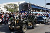 SAO PAULO, SP, 09.07.2016 - REVOLUÇÃO1932- Desfile em comemoração à Revolução Constitucionalista de 1932 na região do Parque do Ibirapuera em São Paulo, neste sábado, 09. (Foto: Darcio Nunciatelli/Brazil Photo Press)