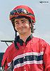 Michael Ritvo aboard Luvin Bullies after winning at Delaware Park on 5/27/15
