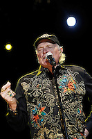The Beach Boys in concert during the beginning of his European tour 2012. Mike Love. Festival de Musicos en la Naturaleza - Festival musicians in nature. Hoyos del Espino (Natural Parc of Gredos), Avila, Spain .July 21,2012. (ALTERPHOTOS/Acero) (ALTERPHOTOS/Acero/*NORTEPHOTO*)