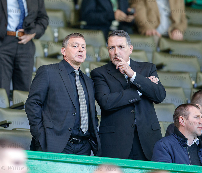Billy Davies in the stand