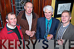 Dairy Farmers enjoying a Christmas night out in the grand hotel, Tralee on Saturday night John Barrett, Frank Egan, Sean O'Connell, and Padraig Harrington.   Copyright Kerry's Eye 2008
