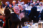 St Johnstone FC Scottish Cup Celebration Dinner at Perth Concert Hall...01.02.15<br /> Abby Ramsay applauds<br /> Picture by Graeme Hart.<br /> Copyright Perthshire Picture Agency<br /> Tel: 01738 623350  Mobile: 07990 594431