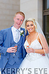 Catriona Murphy, Kanturk daughter of Denis and Anne, and Gavin Nolan, Ballybeg, Buttevant son of Jack and Noreen, who were married in the Church of the Immaculate Conception Kanturk on Thursday Fr Tom Hanley officiated at the ceremony, assisted by Fr Toby Bluitt best man was Kuba Jedyczowski, groomsmen were Jason and Killian, bridesmaids weere Ann Marie Murphy, Sinead McCarthy, Sandra McAulliffe, flowergirls were Annalise Sheehan, Katie, Emma and Sarah O'Donoghue, the reception was held in the Brehon Hotel and the couple will reside in Killarney