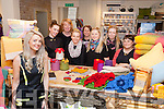 Laura McSweeney with the staff and local craft suppliers in Glenaran on friday l-r: Catherine Aine Knitware, Shannon Macindoe, Rachel Stack, Norma Foley, Aimee Prendergast, eimear O'sullivan, tracy Ryan Bia Beauty