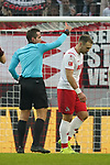 30.11.2019, RheinEnergieStadion, Koeln, GER, 1. FBL, 1.FC Koeln vs. FC Augsburg,<br />  <br /> DFL regulations prohibit any use of photographs as image sequences and/or quasi-video<br /> <br /> im Bild / picture shows: <br /> rote Karte für Rafael Czichos (FC Koeln #5),   <br /> <br /> Foto © nordphoto / Meuter