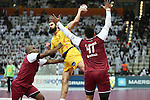 handball wordl cup match between Qatar vs Spain. maqueda . 2015/01/21. Doha. Qatar. Alberto de Isidro.Photocall 3000