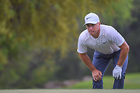 Alex Noren (SWE) looks over his chip on 6 during day 5 of the World Golf Championships, Dell Match Play, Austin Country Club, Austin, Texas. 3/25/2018.<br /> Picture: Golffile | Ken Murray<br /> <br /> <br /> All photo usage must carry mandatory copyright credit (&copy; Golffile | Ken Murray)