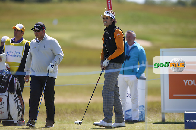 Pedro Oriol (ESP) during Round Two of the 2015 Nordea Masters at the PGA Sweden National, Bara, Malmo, Sweden. 05/06/2015. Picture David Lloyd | www.golffile.ie