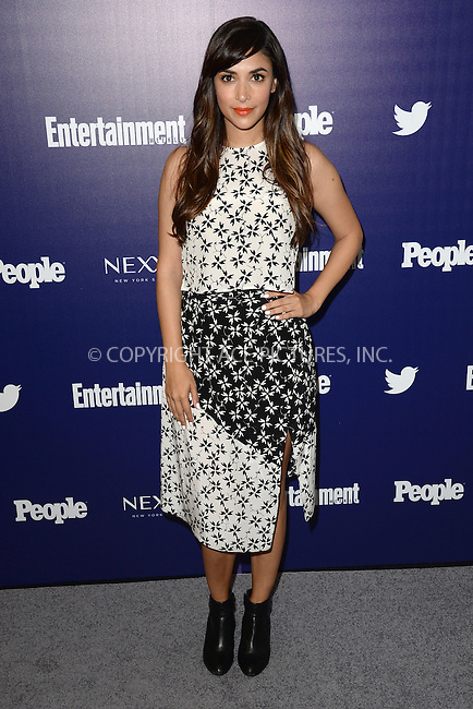 WWW.ACEPIXS.COM<br /> May 11, 2015 New York City<br /> <br /> Hannah Simone attending the Entertainment Weekly and People celebration of The New York Upfronts at The Highline Hotel onMay 11, 2015 in New York City.<br /> <br /> Please byline: Kristin Callahan/AcePictures<br /> <br /> Tel: (646) 769 0430<br /> e-mail: info@acepixs.com<br /> web: http://www.acepixs.com