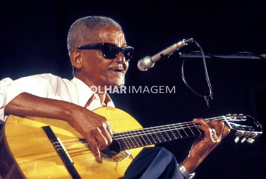 Pessoa. Personalidade. Cartola, músico e compositor. 1982. Foto de Juca Martins.