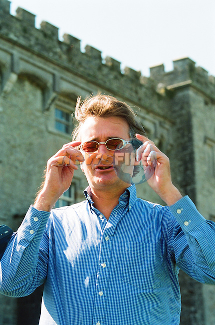 Newsfile Archive negatives roll 2210 22/8/99<br /> Interview with Lord Henry Mt. Charles at Slane Castle ahead of the Slane Gig 21/8/99<br /> <br /> Picture: Fran Caffrey www.newsfile.ie