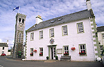 The Murray Arms Hotel in the centre of the scenic town of Gatehouse of Fleet in the Fleet Valley National Scenic Area Galloway Scotland UK