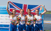Rotterdam. Netherlands. <br /> Boa. Fiona GAMMOND, Donna<br /> ETIEBET, Holly<br /> NIXON and Holly<br /> NORTON,  Non Olympic Classes World Championships, Finals.  2016 JWRC, U23 and Non Olympic Regatta. {WRCH2016}  at the Willem-Alexander Baan.   Saturday  27/08/2016 <br /> <br /> [Mandatory Credit; Peter SPURRIER/Intersport Images]