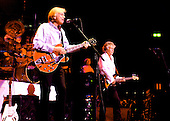 The Moody Blues -Justin Hayward and John Lodge - peforming live in concert at the Royal Albert Hall in  London -UK  05 Oct 2004.  Photo credit: George Chin/IconicPix