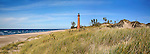 Little Sable Point Lighthouse On Lake Michigan, Lower Peninsula, USA