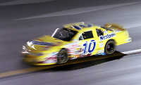2000 Busch Series Champion Jeff Green races through turn 1 at Richmond in September 2000. (Photo by Brian Cleary)