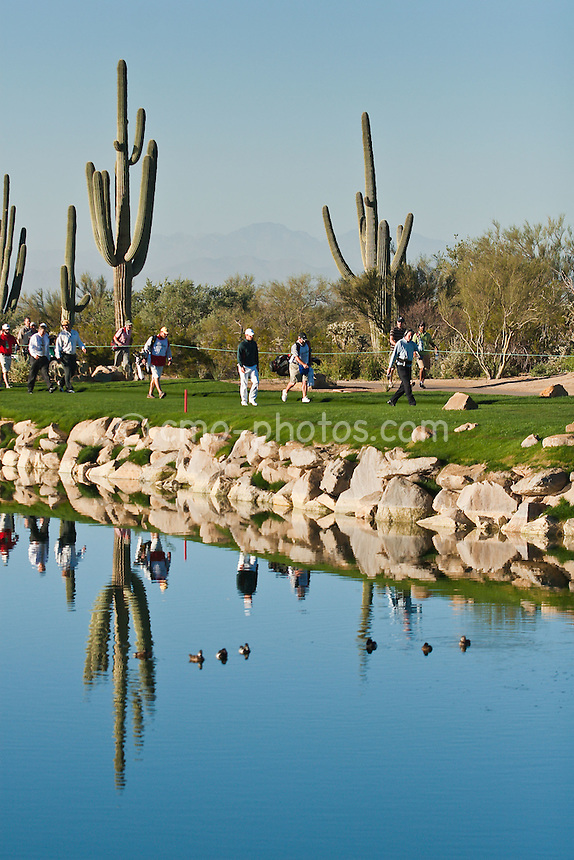 Mar 1, 2009; Marana, AZ, USA; Paul Casey (ENG) walks along the 4th hole during the final round of the World Golf Championships-Accenture Match Play Championship at the Ritz-Carlton Golf Club, Dove Mountain.