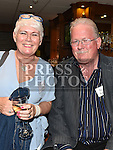Angela Woods and Paul Keogh at the Ardee CS Leaving Cert Class of 1976 reunion in Ardee Golf Club. . Photo:Colin Bell/pressphotos.ie