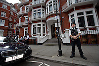 16.08.2012 - Ecuador Grants Diplomatic Asylum to Julian Assange