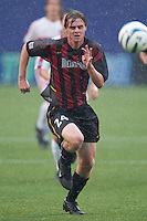 Eddie Gaven of the MetroStars is the youngest MetroStars and second youngest in the league to appear in an MLS regular season game at 16 years 232 days.The Chicago Fire defeated the NY/NJ MetroStars 3-2 on 6/14/03 at Giant's Stadium, NJ..