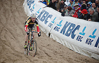 Superprestige Zonhoven 2013<br /> <br /> Klaas Vantornout (BEL) in 'The Pit'