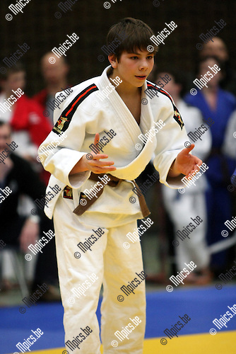 2010-02-12 / Judo / VK Herentals 2010 / Jeroen Nelis..Foto: mpics