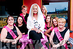 Bride to Be: Mary Burke, Duagh on her hen night at Christy's Bar, Listowel on Saturday night last. L-R: Nicola Carty, Eimear McElligott, Ashley Sabourin-Burke, Mary Burke, Laura Kelly, Marguerite Corridan, Laura Harnett & Breda Burke.