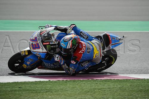 17th March 2018, Losail International Circuit, Lusail, Qatar; Qatar Motorcycle Grand Prix, Saturday qualifying; Alex Marquez (Marc VDS) during free practice