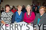 Liz mahony, Joan Murphy, Nora Kelly and Mary Kelly at the Glenflesk Rambling House on Saturday night