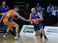 Sam Dempster (Giants) in action during the national basketball league semifinal match between Nelson Giants and Southland Sharks at TSB Bank Arena in Wellington, New Zealand on Saturday, 4 August 2018. Photo: Dave Lintott / lintottphoto.co.nz