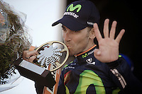 Alejandro Valverde (ESP/Movistar) is now the sole record holder up the Mur de Huy; the only rider to have ever won the Fl&egrave;che 4 times.<br /> <br /> Fl&egrave;che Wallonne 2016