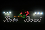 Rose Bowl at night