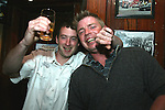Paul Sharkey and Darren Cowley enjoy a night out in McPhails...Photo NEWSFILE/Jenny Matthews.(Photo credit should read Jenny Matthews/NEWSFILE)....This Picture has been sent you under the condtions enclosed by:.Newsfile Ltd..The Studio,.Millmount Abbey,.Drogheda,.Co Meath..Ireland..Tel: +353(0)41-9871240.Fax: +353(0)41-9871260.GSM: +353(0)86-2500958.email: pictures@newsfile.ie.www.newsfile.ie.FTP: 193.120.102.198.